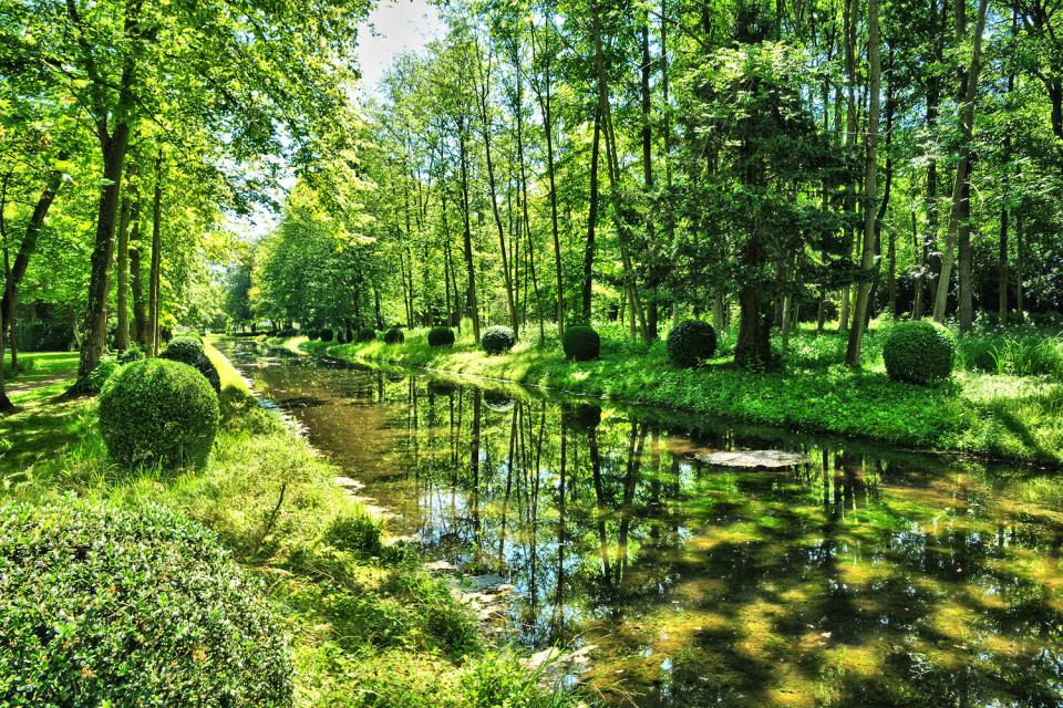 L Aisne Aux Cinq Paysages Picardie France