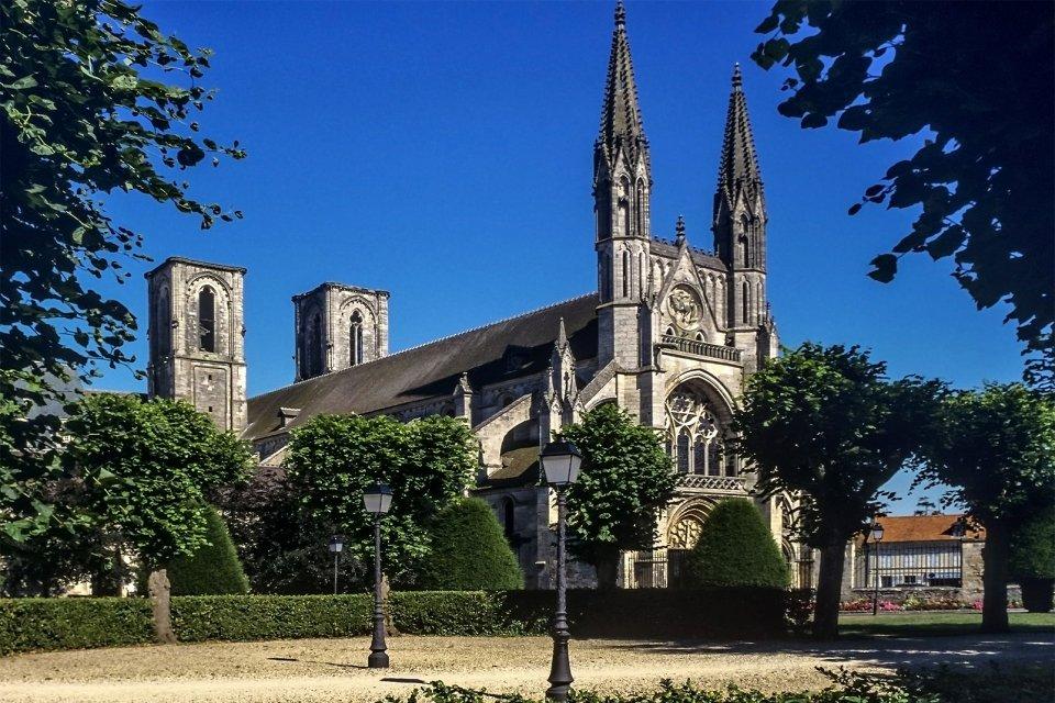 Les monuments, laon, aisne, picardie, cathédrale, france, europe, religion