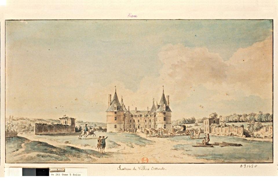 Le château au XVIIIème siècle, Château de François Ier, Les monuments, Picardie