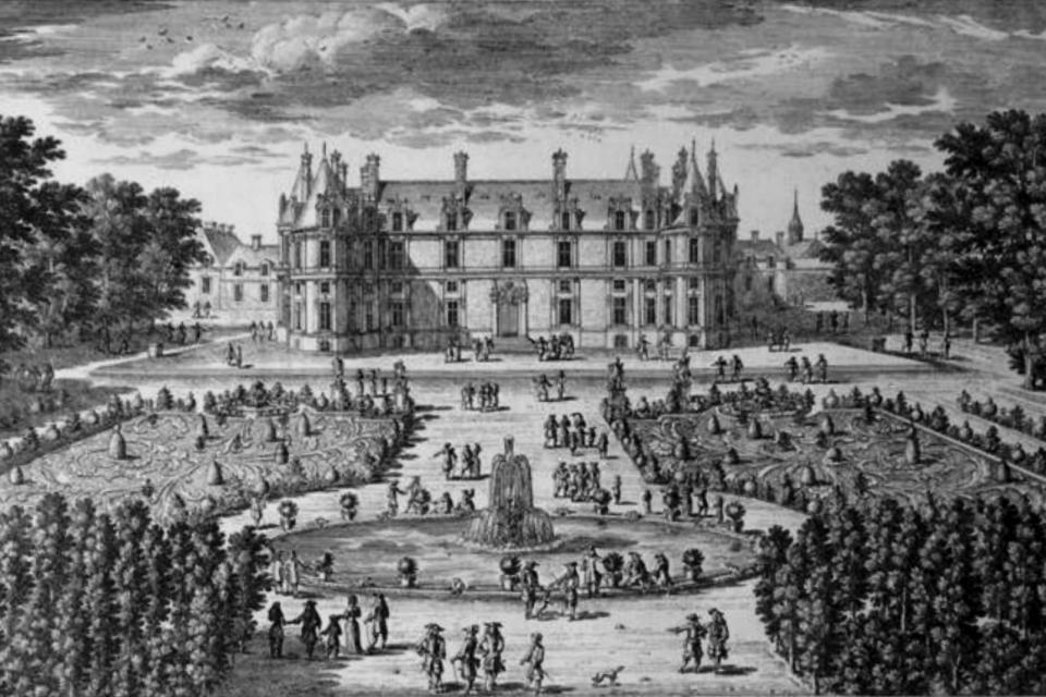 Gravure d'Adam Pérelle, Château de François Ier, Les monuments, Picardie
