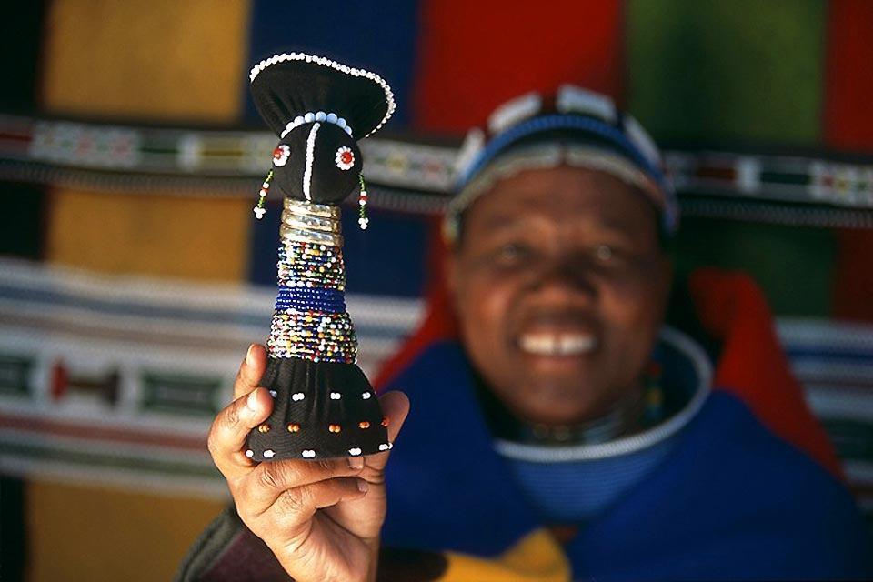 La tribu ndebele , Las mujeres ndebeles , Sudáfrica