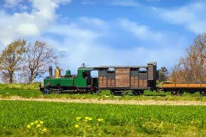 Les chemins de fer de la baie de Somme , France