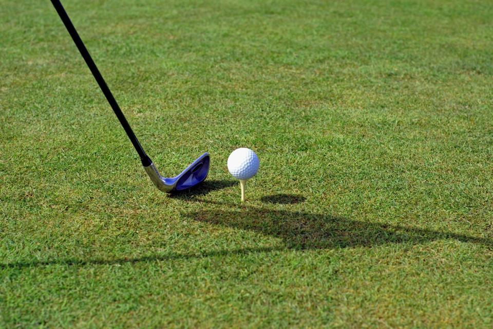 El golf en Aisne , Francia