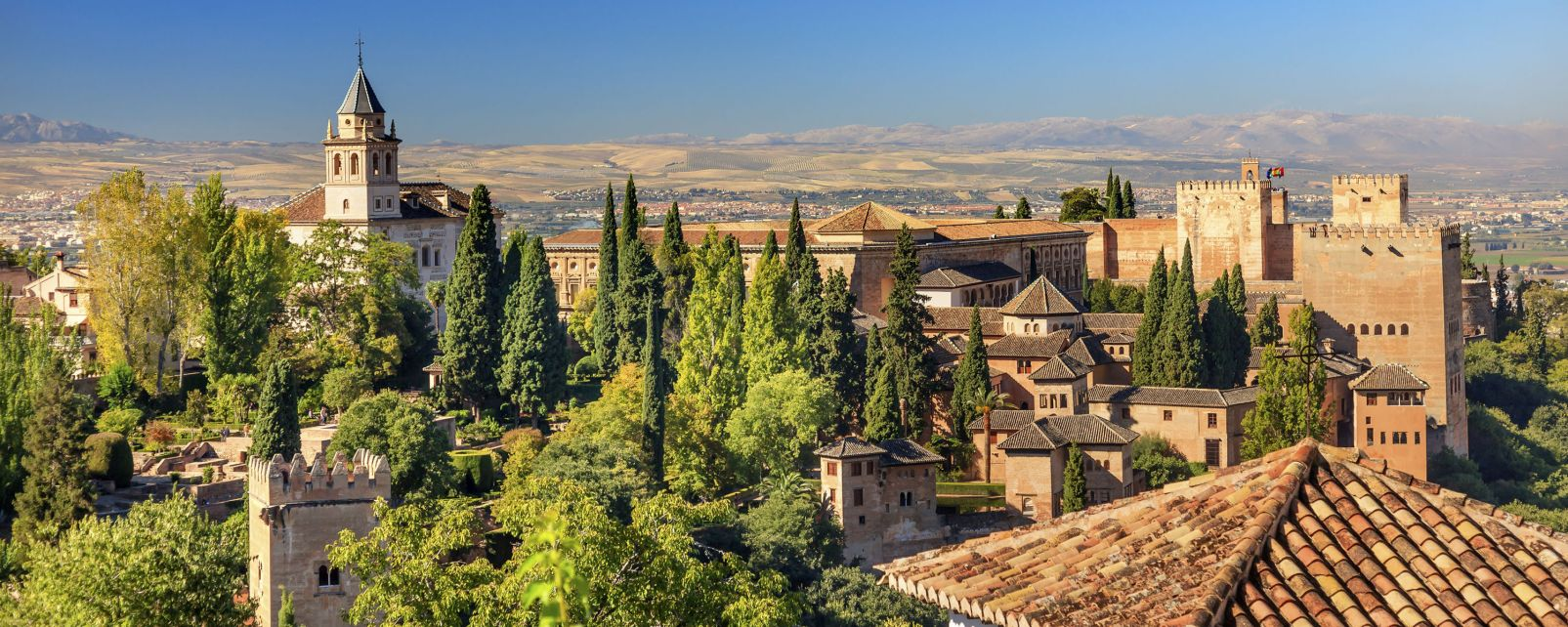 The Alhambra, Sierra Nevada, Landscapes, Almeria, Andalusia