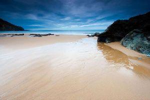 Bakio , La plage de Bakio, en Biscaye , Espagne