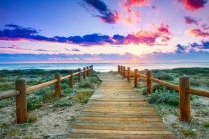La côte d'Almería , Nature brute sur la côte tropicale , Espagne