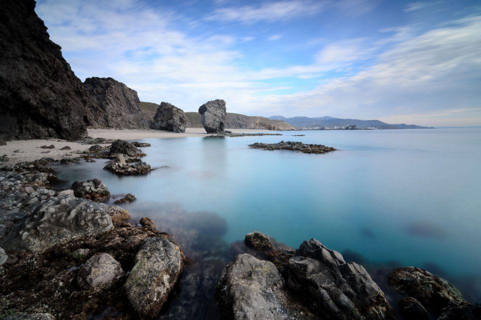 Les côtes, Andalousie, Cabo de Gata, espagne, europe, méditerranée, mer, plage, côte, almeria, lors muertos