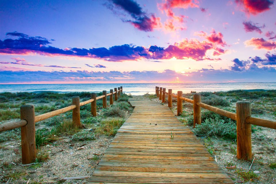 Natura allo stato brado sulla costa tropicale, Costa Tropical di Granada, Le rive, Almeria, Andalusia