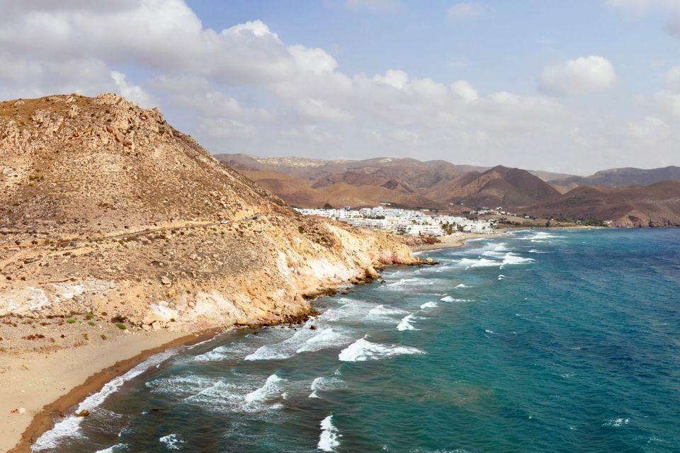Les côtes, Andalousie, Cabo de Gata, espagne, europe, méditerranée, mer, plage, côte, almeria, parc, gata-Nijar