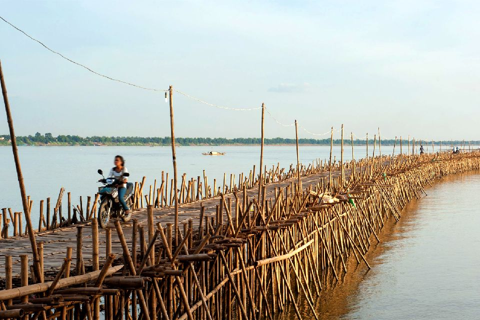 La pianura del Mekong , Tonlé Tum, Cambogia , Cambogia