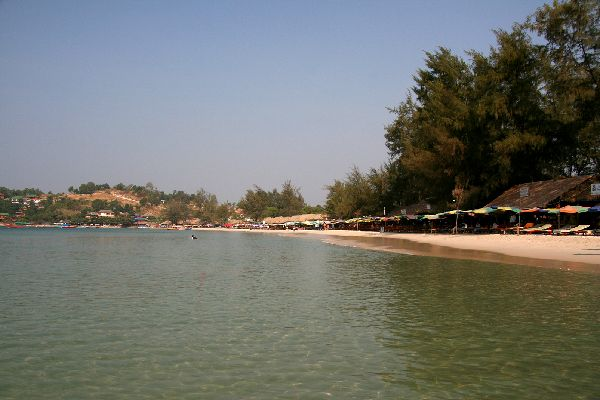 The Gulf of Thailand , The sandy beaches of the Gulf of Thailand , Cambodia
