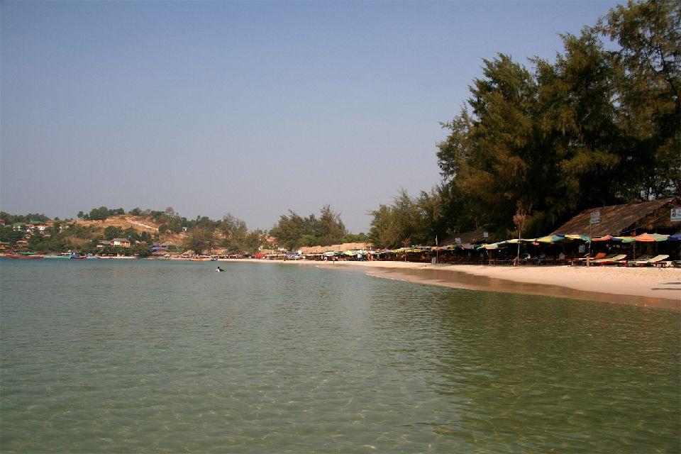 Il Golfo di Thailandia , Le località balneari cambogiane , Cambogia