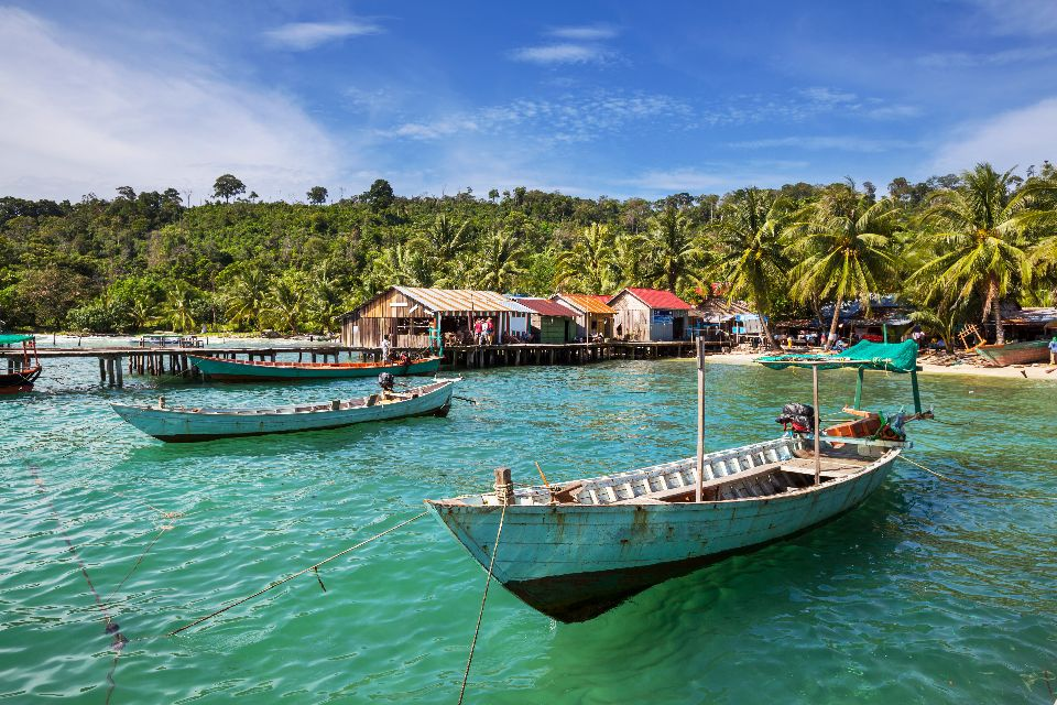 Il Golfo di Thailandia , Il Golfo di Thailandia, Kampot , Cambogia