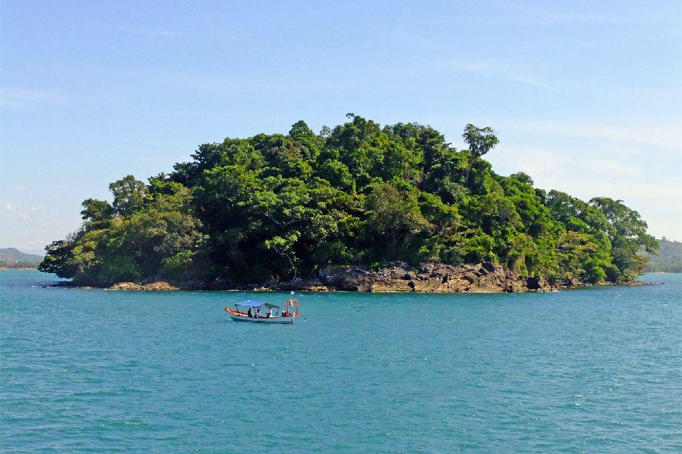 Il Golfo di Thailandia , Cambogia
