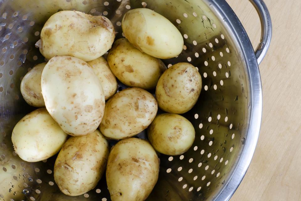 La patata de la Isla de Ré , Francia