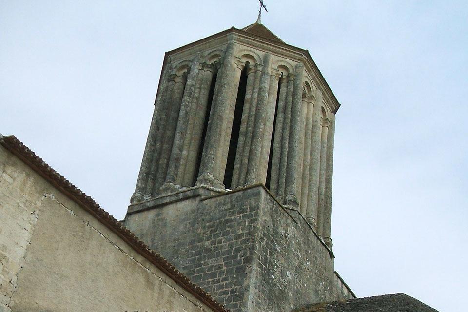 The historical centre of Surgères , France