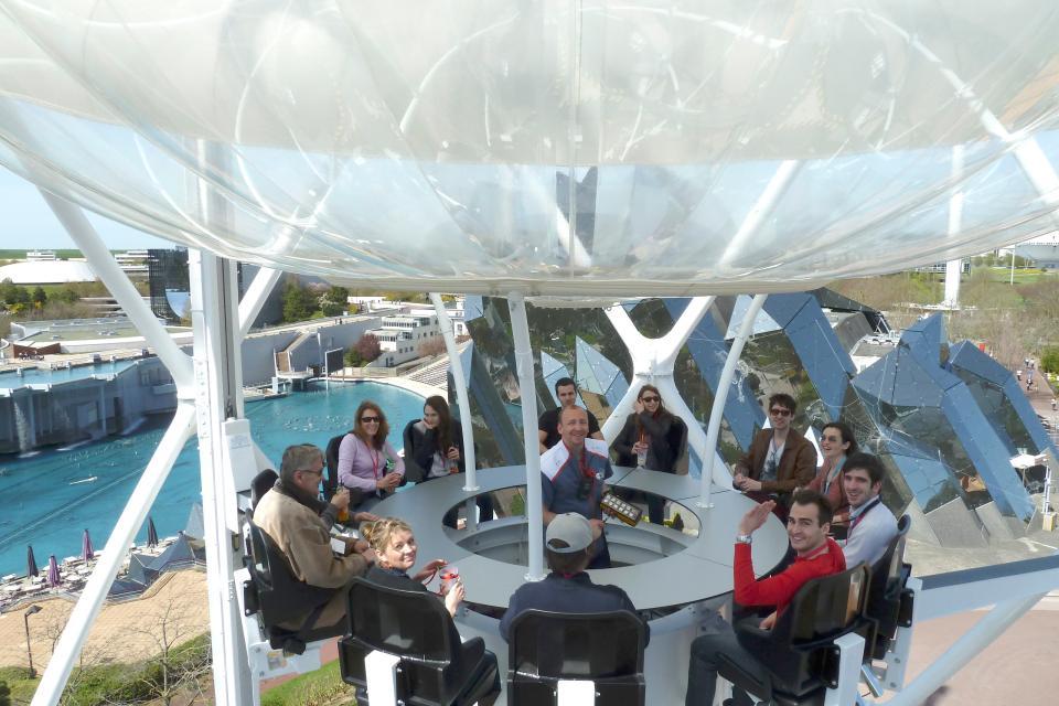 Il Futuroscope di Poitiers , Francia