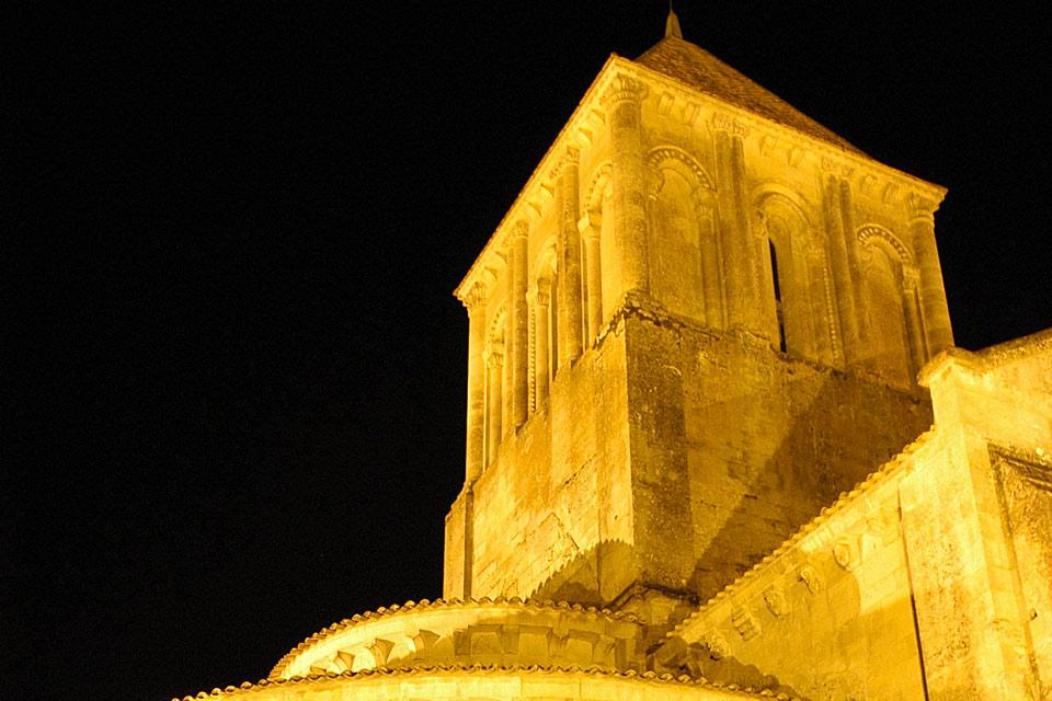 Eglise Saint Hilaire de Melle , France
