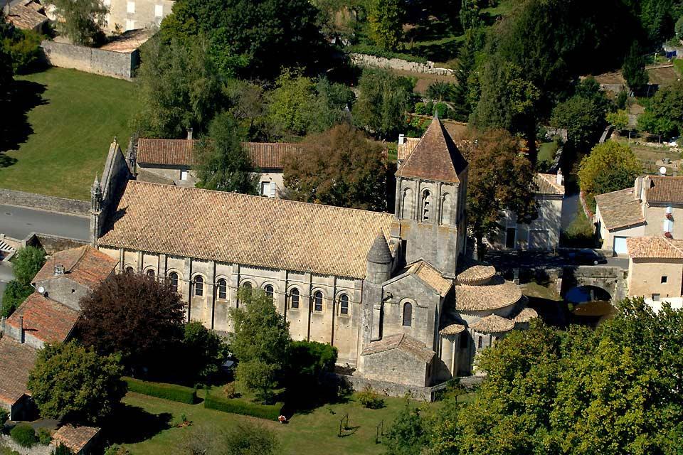 Eglise Saint Hilaire de Melle , L'église Saint Hilaire de Melle , France