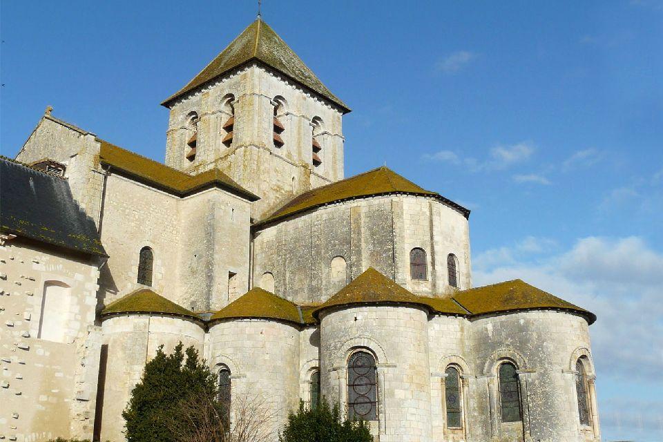 Saint-Savin Abbey , France