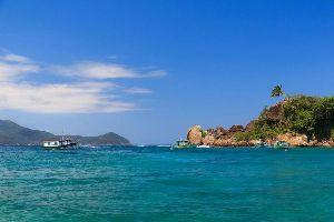 Ilha Grande y la bahía de Angra dos Reis , Brasil