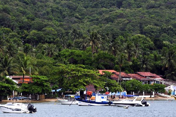 Ilha Grande and Angra dos Reis bay , The port , Brazil