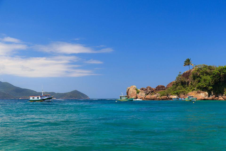 Ilha Grande et la baie d'Angra dos Reis , Ihla Grande et la baie d'Angra dos Reis , Brésil