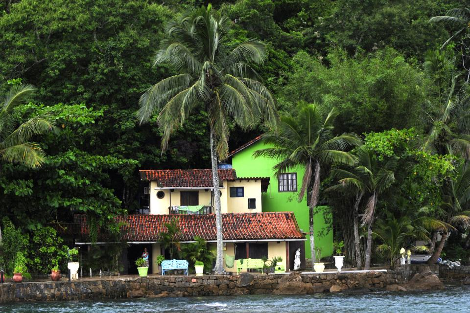 Ilha Grande et la baie d'Angra dos Reis , Pousadas , Brésil