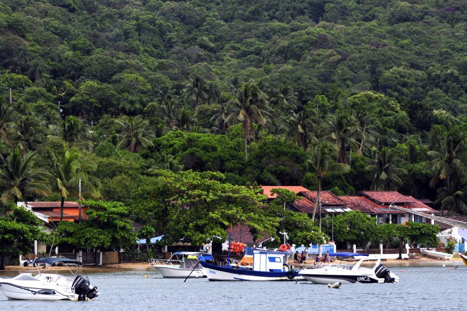 Ilha Grande and Angra dos Reis bay , The port , Brazil