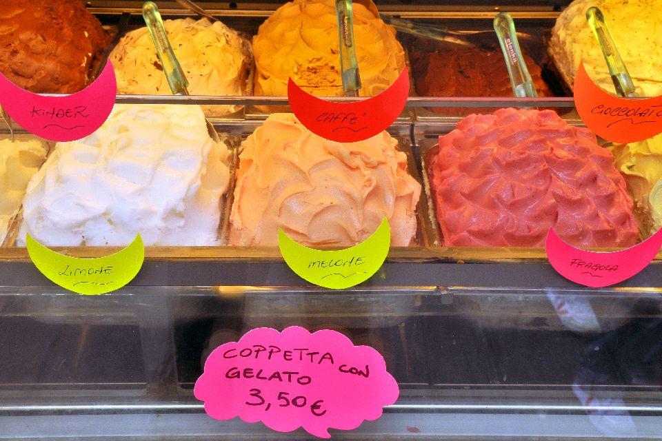Terra e Mare , I gelati , Italia