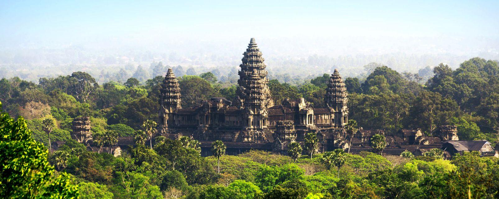 Le Site D Angkor Cambodge