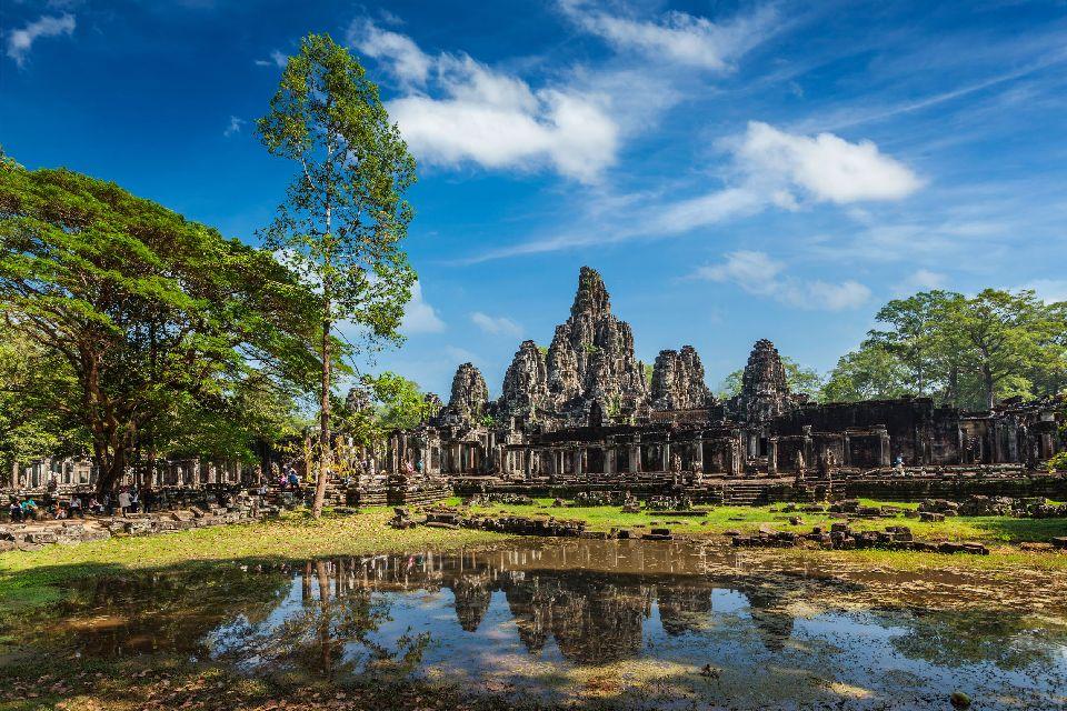 Angkor , Wat Bayon, Angkor , Cambodia