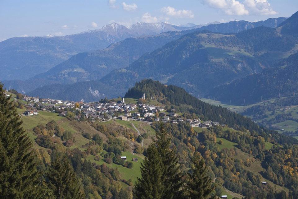 Flims-Laax-Falera , A charming village , Switzerland