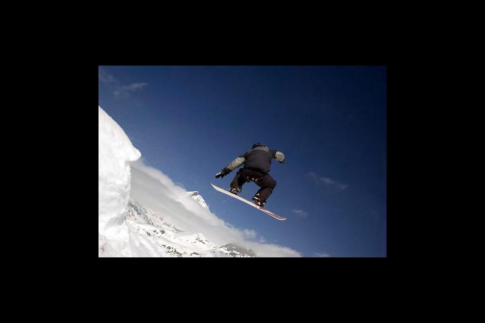 Flims-Laax-Falera , Paradise for snowborders , Switzerland