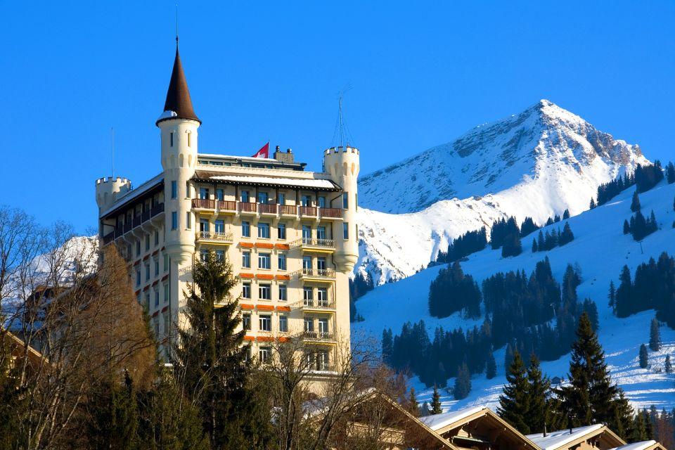 Le village de Gstaad , La nature reine , Suisse
