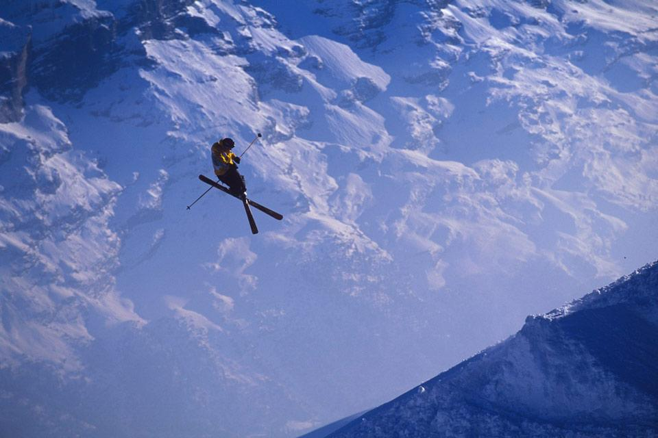 Villars , Ein tolles Skigebiet , Schweiz