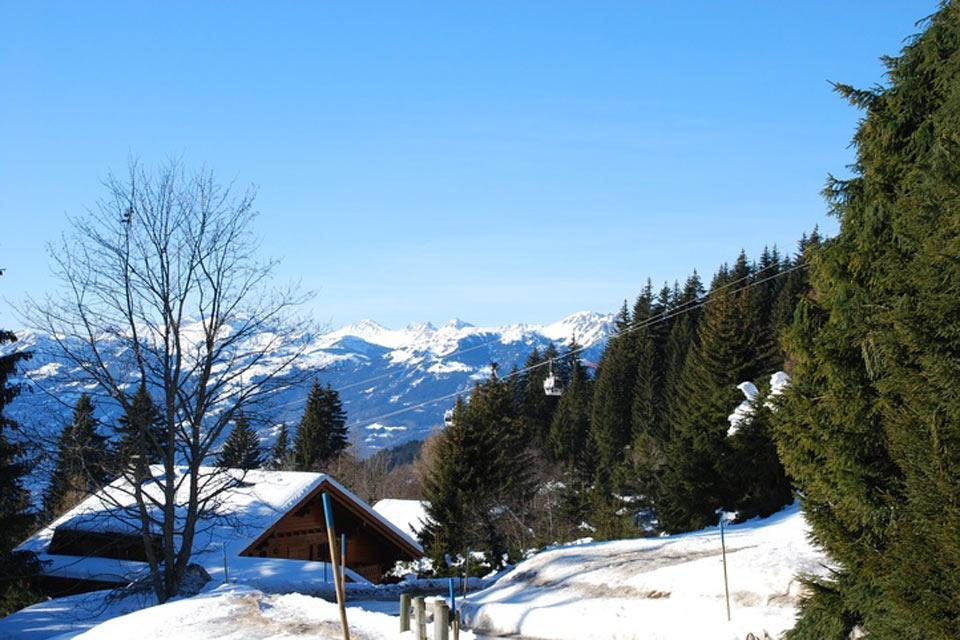 Villars , Ein außergewöhnliches Panorama , Schweiz