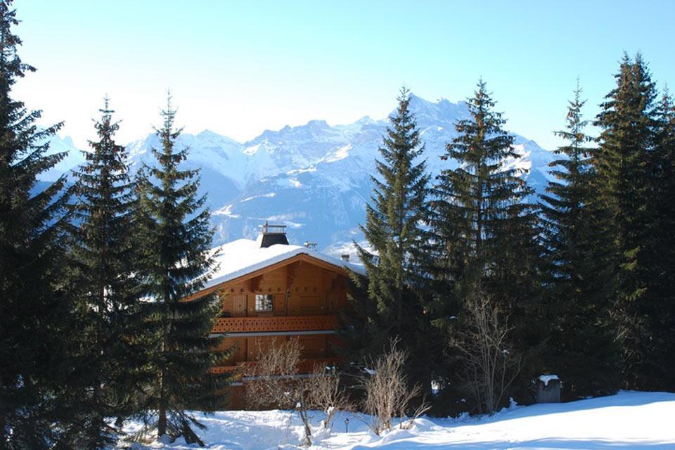 Villars , Ein Bergchalet? , Schweiz