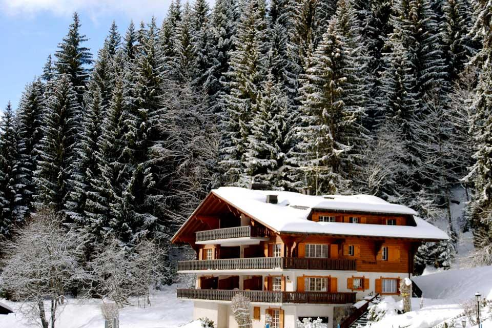 Villars , Eine ideale Lage , Schweiz