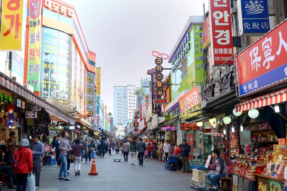 Namdaemun Market , Namdaemun market , South Korea
