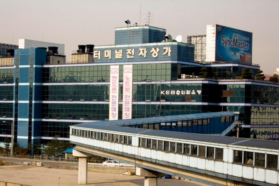 Il mercato dell'elettronica di Yongsan, Il mercato elettronico di Yongsan, Lo shopping, Corea del Sud
