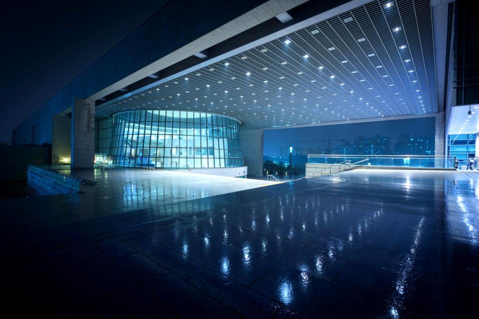 Il Museo Nazionale della Corea , Corea del Sud