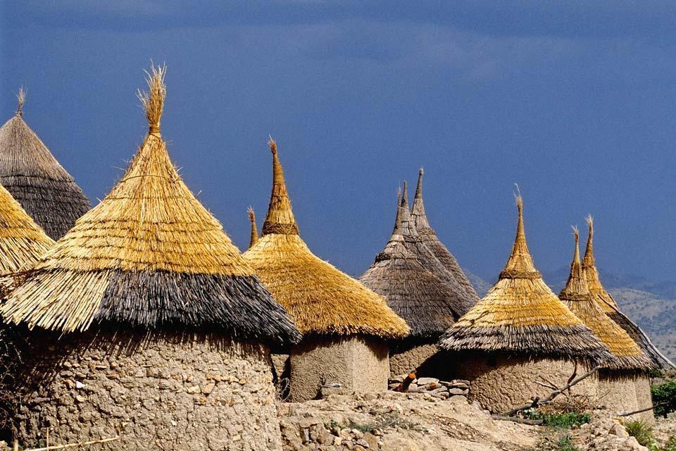 Les monts Mandara , Les montagnes du monts Mandara , Cameroun