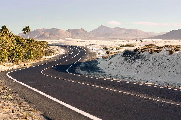 Fuerteventura , Les dunes de Corralejo , Les dunes de Corralejo à Fuerteventura , Espagne