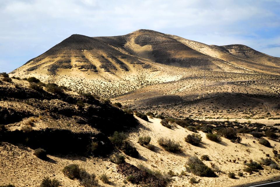 La Palma ? Paisaje Protegido El Tablado , Un aire al Sáhara , España