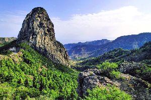 La Gomera ? El parque nacional de Garajonay , La Gomera , España