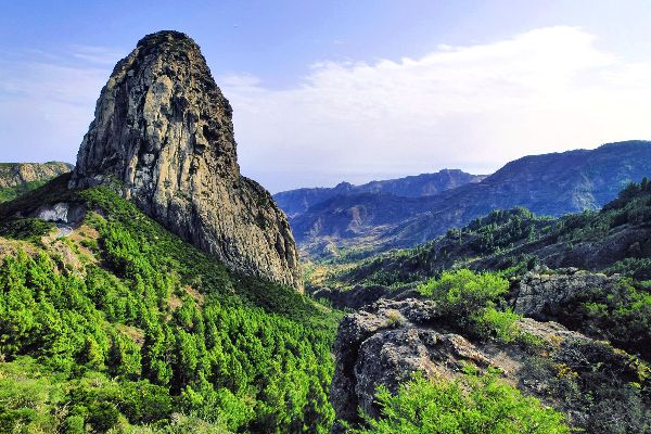 La Gomera , Le parc national de Garajonay , Espagne