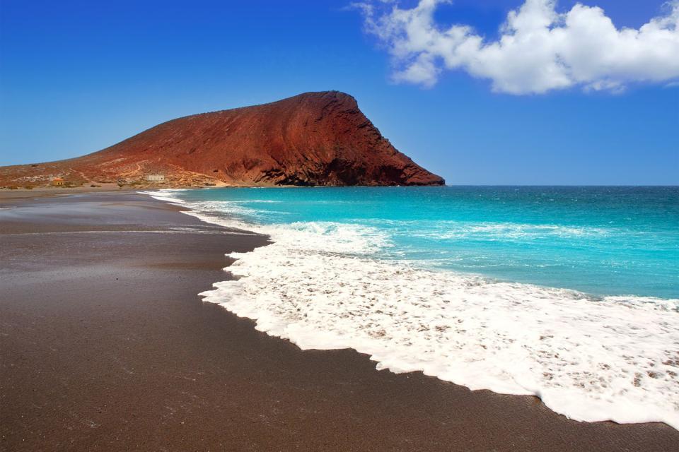 Ténerife , Playa de La Tejita , Tenerife , Playa de La Tejita , España
