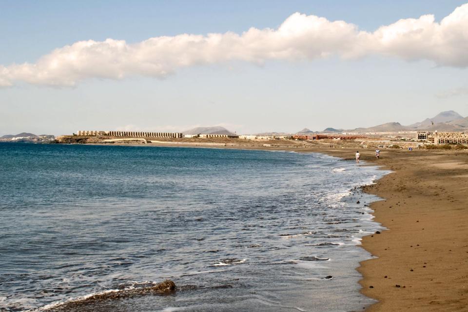 Ténerife , Playa de La Tejita , España
