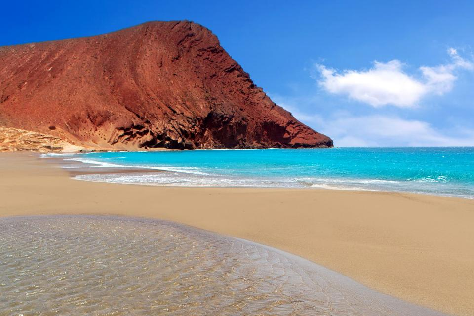 Tenerife , La plage de La Tejita , Espagne